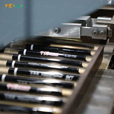 Small Tube 2 Color Automatic Screen Printing Machine For Lipstick Mascara