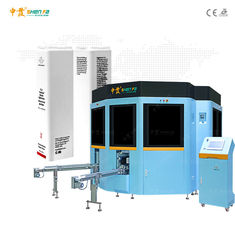 Auto Servo Control 50Hz Square Plastic Bottle Screen Printing Machine