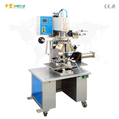 Semi Automatic Hot Foil Stamping Machine For Polygonal Oval