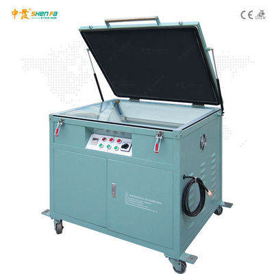 220V 50Hz 1.2kw Vacuum UV Exposure Unit For Pad Plate