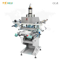 Bottle Big Plane Surface Semi Auto Hot Foil Stamping Machine Enlarged