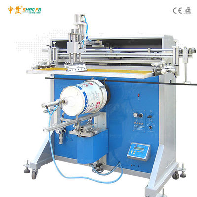 Semi Auto 110V UV Ink Bucket Screen Printing Machine