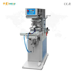 AC220V 50Hz Two Color Semi Automatic Pad Printing Machine With Shuttle Plate