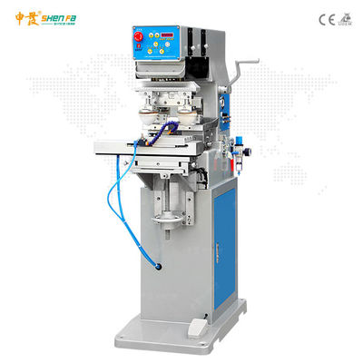 Ink Tray Ink Cup 60W Semi Auto 2 Color Pad Printing Machine