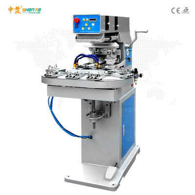 8 Station Barrels Dolls Silicon Electric Pad Printing Machine