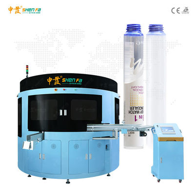 Hot Stamping Automatic Tube Silk Screen Printer Machine
