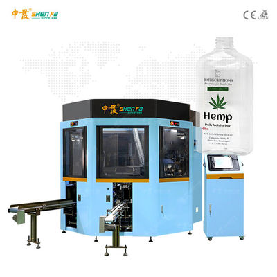 Full Servo 3-color Silk Screen Printing Machine With  For Square Bottle SF-MP310