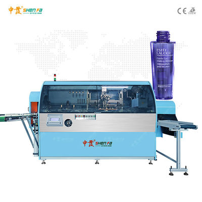 Automatic Plastic Lotion Bottle Silk Screen Printing Machine Single Color