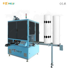 Ceramic Round Tube Single Color Automatic Screen Printing Machine Led Curing