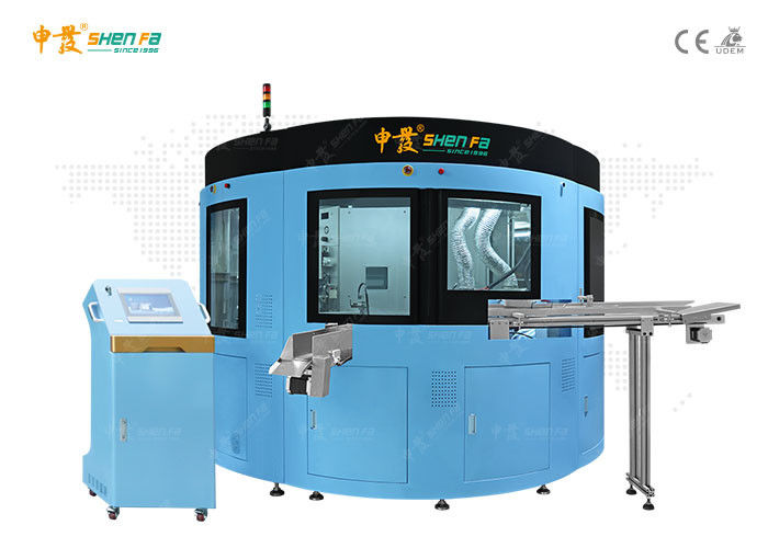 Varnish And Six Color Automatic Screen Printing Machine For Plastic Cosmetic Tube With Auto loading System SF-SHR720