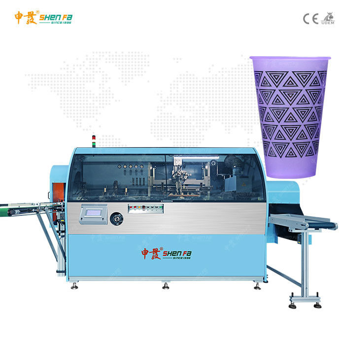60pcs/min Single Color Automatic Screen Printing Machine For Plastic Bottles