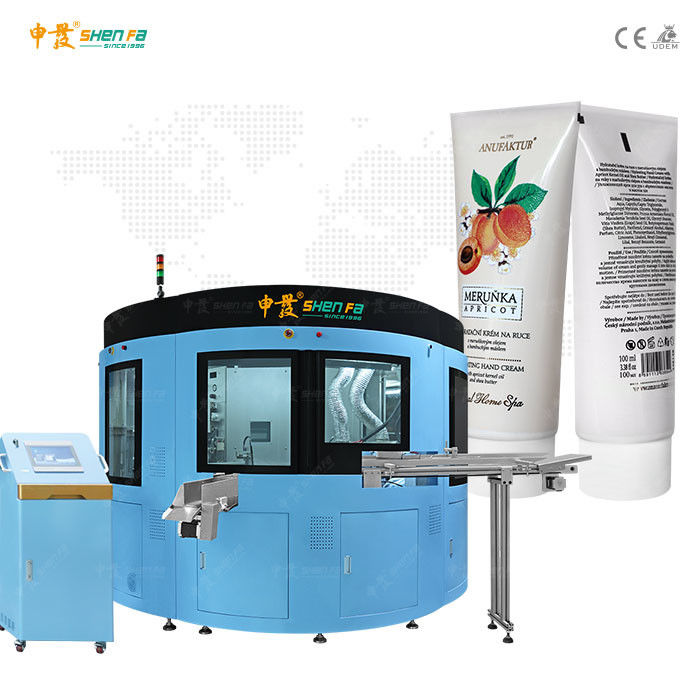 Automatic Varnishing High Speed Screen Printing Machine For 30mm Tube