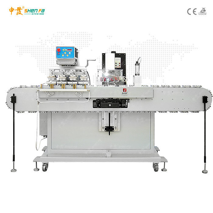 Vertical Conveyor Tempo Printing Machine For Plastic Cap