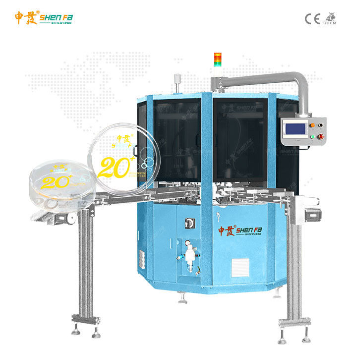 Plane Automatic Screen Printing Machine For Foundation Box 380V