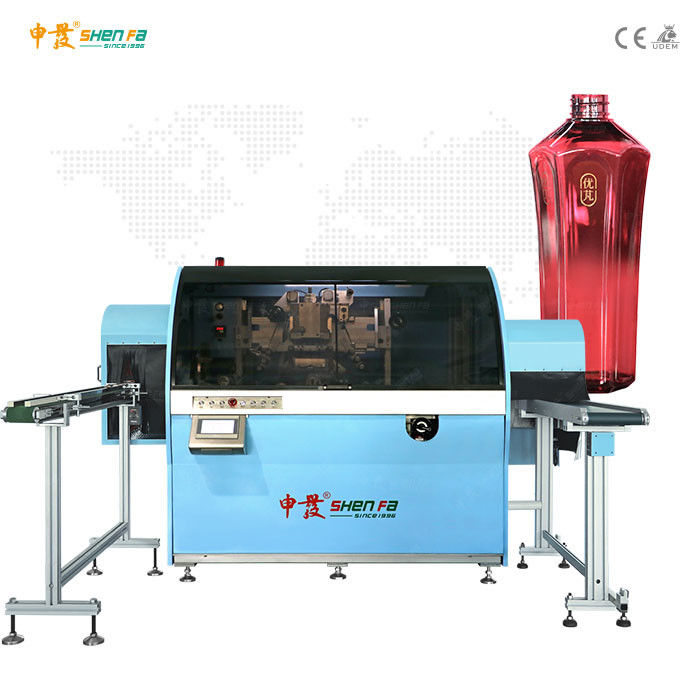 Mechanical Driving Bottles Automatic Hot Foil Stamping Machine